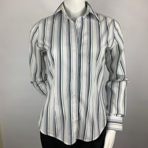 The Limited Woman's Button Down w/ Stripes Size: S